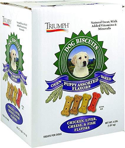 (Triumph Biscuits Puppy Assorted (Box) 4#)