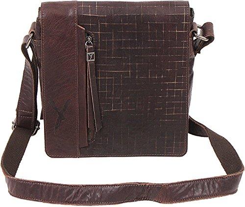 SURI FREY Sady Umhängetasche mit Überschlag 24cm 200 darkbrown