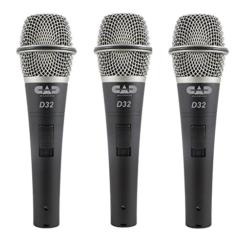 CAD Audio CADLive D32 Supercardioid Dynamic Microphone with