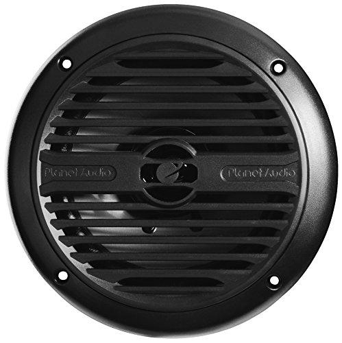 PLANET AUDIO PM60B Marine Speakers Model 6.5', Dual 4 Î Voice Coil, Full Range