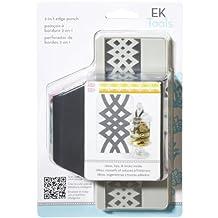 EK Success Tools 2-in-1 Edger Punch, Calligraphy Scroll