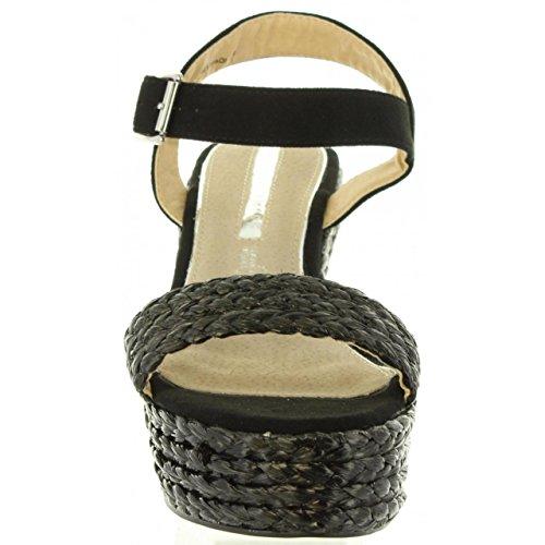Negro pour C41081 67175 Mare Sandales Femme Maria Snvg8q0fwH