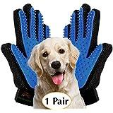 Upgrade Version - Pet Grooming Glove - Gentle...