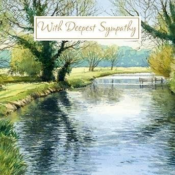 Greeting Card Reflections Foil Finish Galler!a Range - Sympathy LD1846