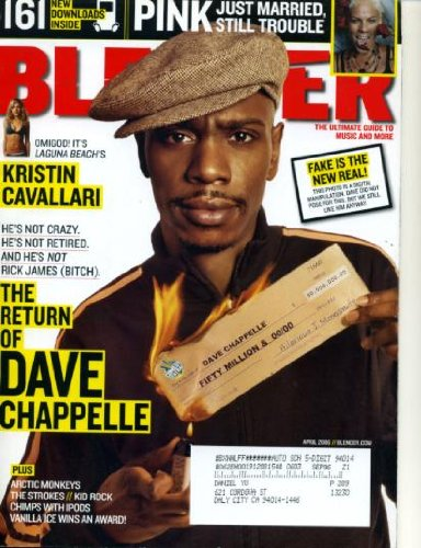 Blender April 2006 Dave Chappelle Cover, The Strokes, Kristin Cavallari of Laguna Beach, Kid Rock, - Laguna Beach Kristin Cavallari