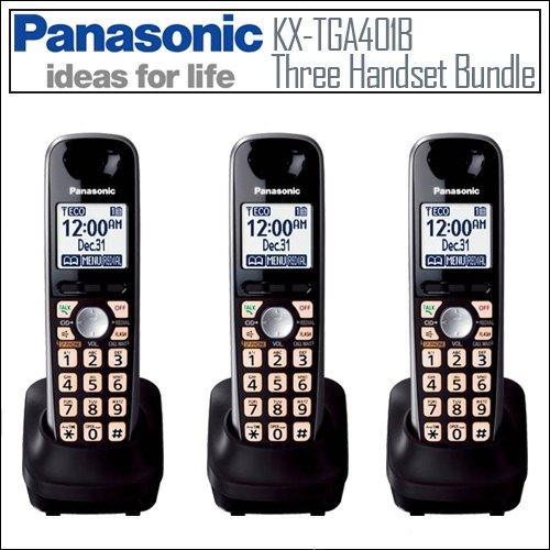 Panasonic KX-TGA401B KXTGA401B KX TGA401B DECT 6.0 KX-TG4000 Ser, Office Central