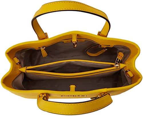 Michael Kors Jet Set Travel Medium EW Tote, Bolso Totes para Mujer, 22x12x31 cm (W x H x L) Amarillo (Sunflower)