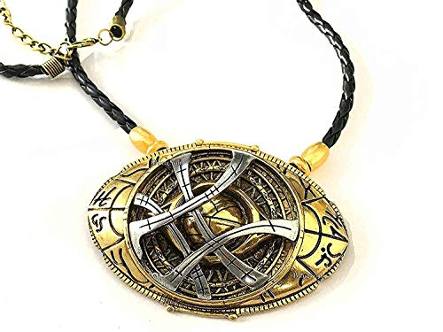 BlingSoul New Doctor Strange Costume Cosplay Jewelry - Eye of Agamotto Necklace (Large) by BlingSoul (Image #5)