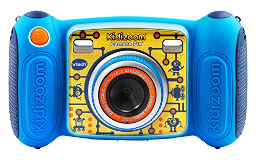 VTech Kidizoom Camera made our list of camping safety tips for families who RV and tent camp
