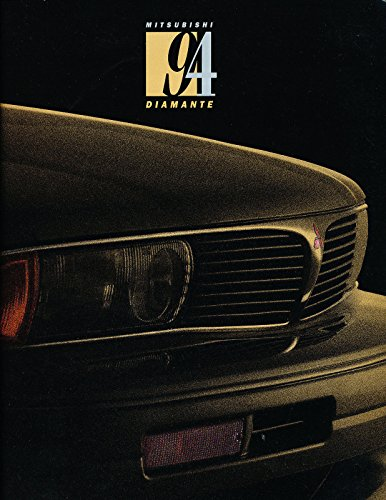 1994 Mitsubishi Diamante and Wagon 16-page Original Car Sales Brochure Catalog ()