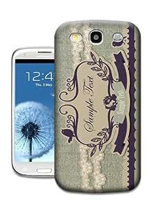 Randi''s iPhoneCase Unique Design Retro Flowers 13 Phone Case/Shell for Samsung Galaxy S3