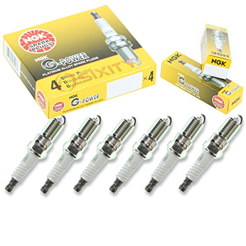 NGK G-Power 6pcs Spark Plugs Ford Ranger 83-07 2.8L 2.9L GAS FLEX 3.0L V6