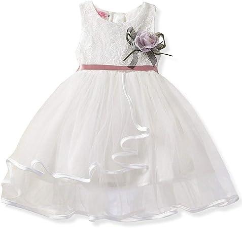 Bébé Filles Tutu Princesse Robe de Baptême Mariage Demoiselle D/'Honneur Fleur Fille Robe