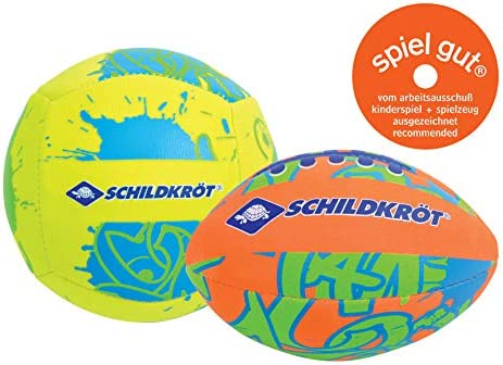 Schildkröt Funsports Pack de 2 Mini-Pelotas , 1 Pelota de Volley y ...