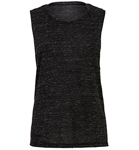 Flowy scoop muscle t-shirt Black Marble - Scoop Sunglasses