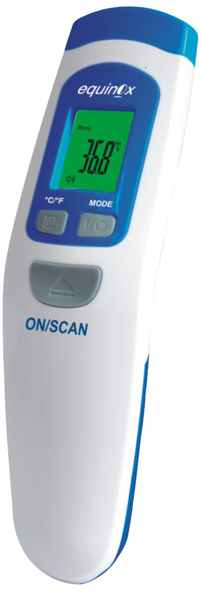 Equinox Infrared Thermometer (White/Blue)