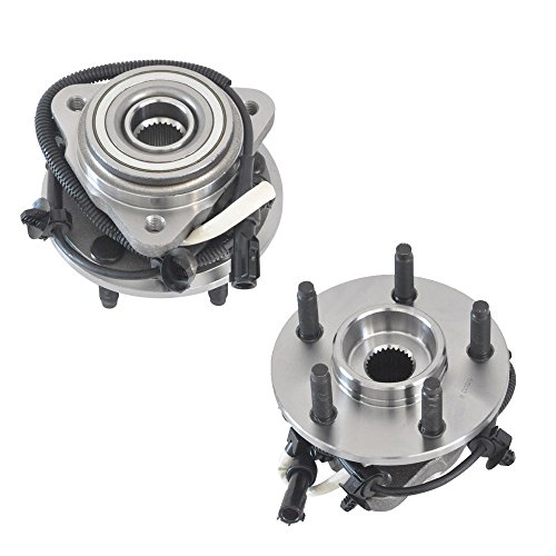 DRIVESTAR 515013x2 Front Wheel Hubs & Bearings Assembly fits for Ranger B Series 4WD 4x4 w/ABS(Set of 2)