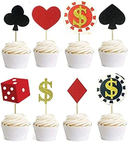 Casino night cake toppers buy slot machine for home uk
