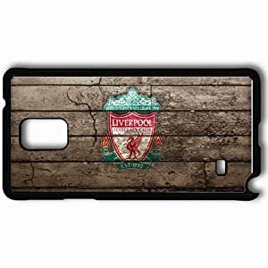 Personalized Samsung Note 4 Cell phone Case/Cover Skin Liverpool Logo The FA Steven Gerrard Fernando Torres Liverpool Football Black
