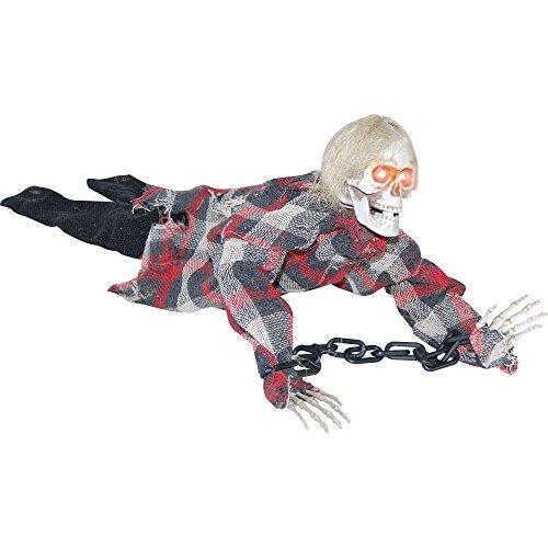[Animated Reaper in Chains Halloween Prop] (Halloween Props)