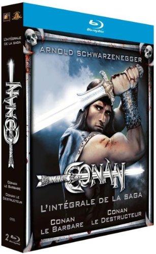 Conan le Barbare + Conan le Destructeur [Blu-ray] (Conan Ray Blu)