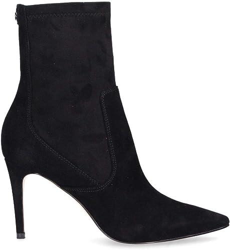 guess svart suede ankle støvler factory