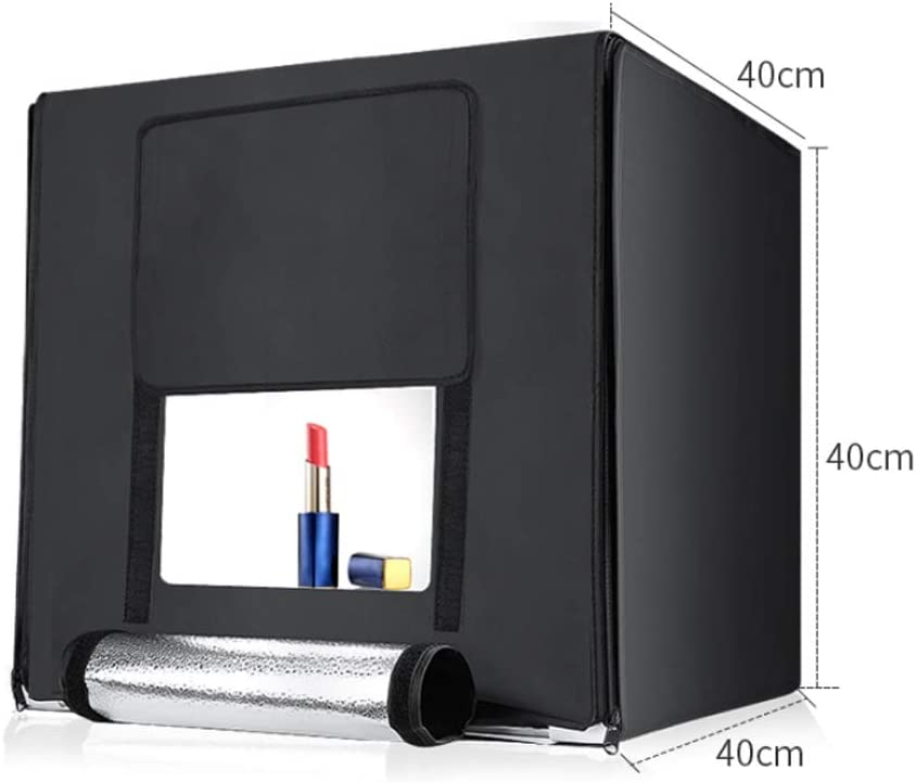 Color : Black ZWS Photography Accessories Portable Photography Lighting Kit Dimmable Continuous LED Softbox Studio Lights with Stands Softbox Light Diffuser Studio