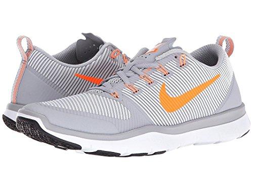 Nike Mens Versatilità Scarpa Allenamento Da Allenamento Lupo Grigio / Bianco / Nero / Agrumi Brillante 13