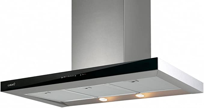 CATA LEGEND De pared Gris, Negro 710m³/h A+ - Campana (710 m³/h, Canalizado, A, A, B, 64 dB): 332.13: Amazon.es: Grandes electrodomésticos