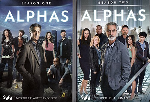 Alphas Complete Series (Season 1 & 2 Bundle Pack)
