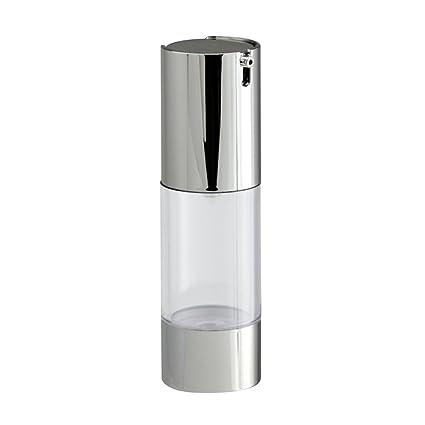 Lurrose La botella transparente de la bomba de 30ml Airless, prensa el dispensador plástico de
