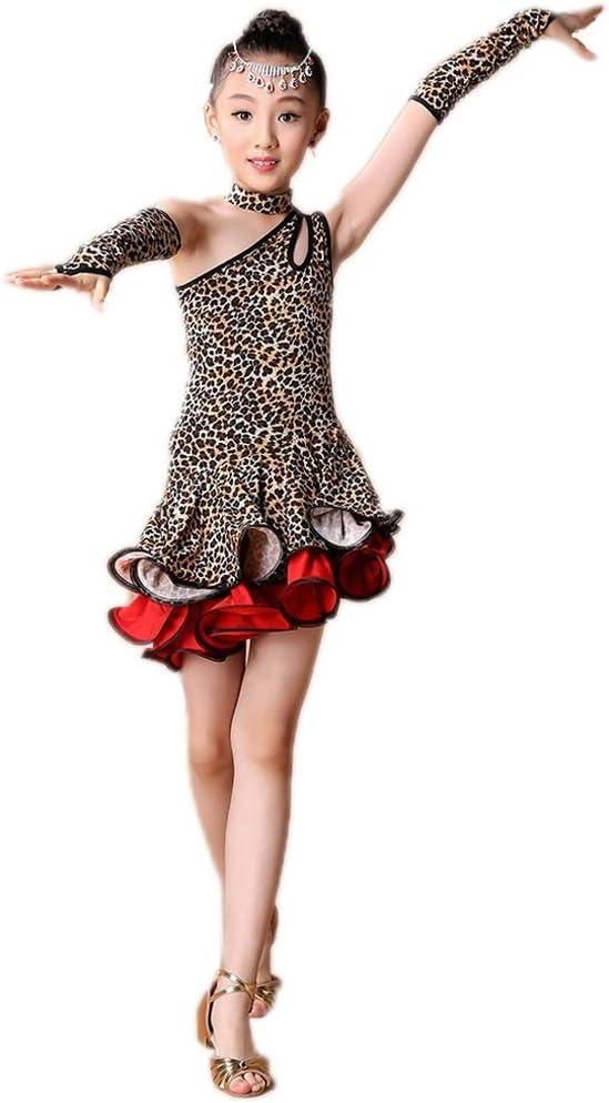 Trajes de Baile Latino - Vestido de la Competencia con Flecos ...