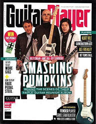 Guitar Magazine Covers - Guitar Player Magazine (December, 2018) Smashing Pumpkins Cover