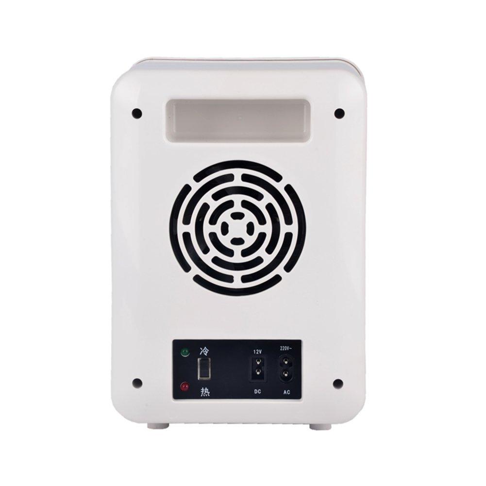 Mini refrigerador de 5L mini Caja de calefacción y refrigeración del coche Hogar del automóvil Refrigeración cosmética Dormitorio de los estudiantes ...