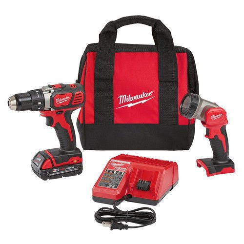 Milwaukee Electric Tools 2606-21L M18 1/2″ Drill & LED Light Special Kit Review