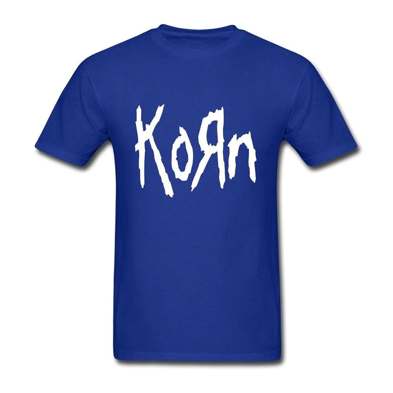FQYPMC Man 100% Cotton Love Korn Ticket To Rock Tour Tshirts