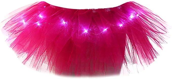Holataa Disfraces Mujer Carnaval Tutus de Colores Vestido de ...