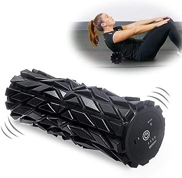 Douleur Musculaire et Soulagement de la Raideur D/étente Myofasciale HiHiLL Foam Roller Rouleau Massage en Mousse pour Massage en Profondeur