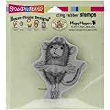 Stampendous HMCV19 Cling Rubber Stamp House Mouse Ballerina Baby