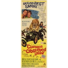 Clarence The Cross Eyed Lion - Movie Poster - 11 x 17