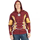Medium Iron Man Suit Up Fleece Hoody (M)