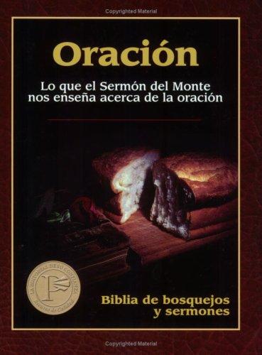Oracion (Biblia de Bosquejos y Sermones N.T.) (Spanish Edition) pdf