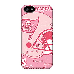 Iphone 5/5s KZp13970cpVW Support Personal Customs Attractive Tampa Bay Buccaneers Pictures Shock Absorbent Hard Phone Cases -CharlesPoirier