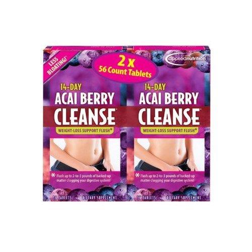 Acai Berry Cleanse comprimés de 14 jours, 112 Count