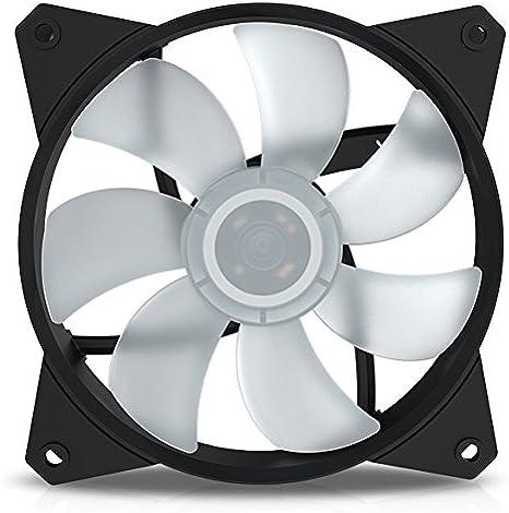 Cooler Master Mf121L RGB - Ventilador de Caja, Color Negro: Amazon ...