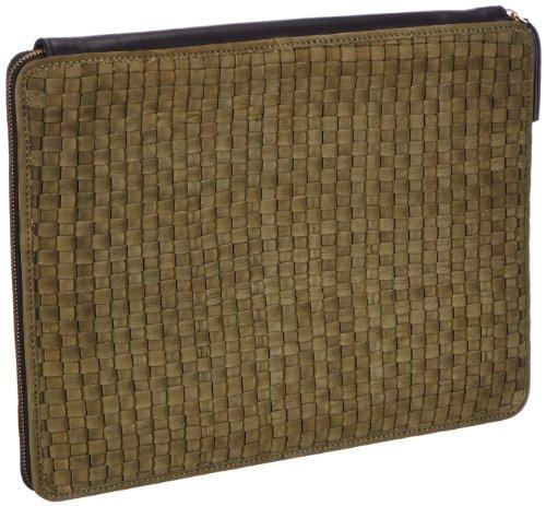 Maanii MAANII bag - Bolso de mano de cuero mujer Verde - Grün (Olive 10)
