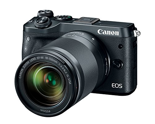 Canon EOS M6 (Black) 18-150mm f/3.5-6.3 IS STM Kit