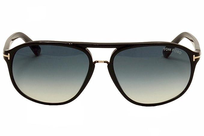 high quality best value best wholesaler Tom Ford Men FT0447 JACOB 60 Black/Blue Sunglasses 60mm