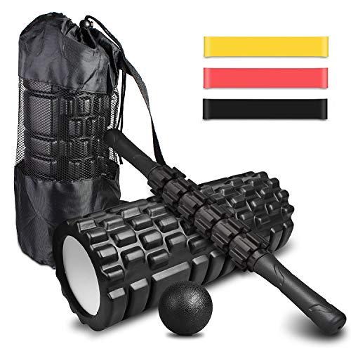 🥇 4-en-1 Foam Roller Kit
