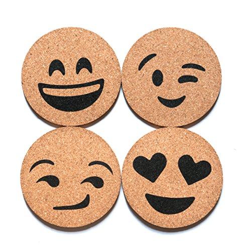 corkologist-emoji-cork-coaster-printed-set-of-4